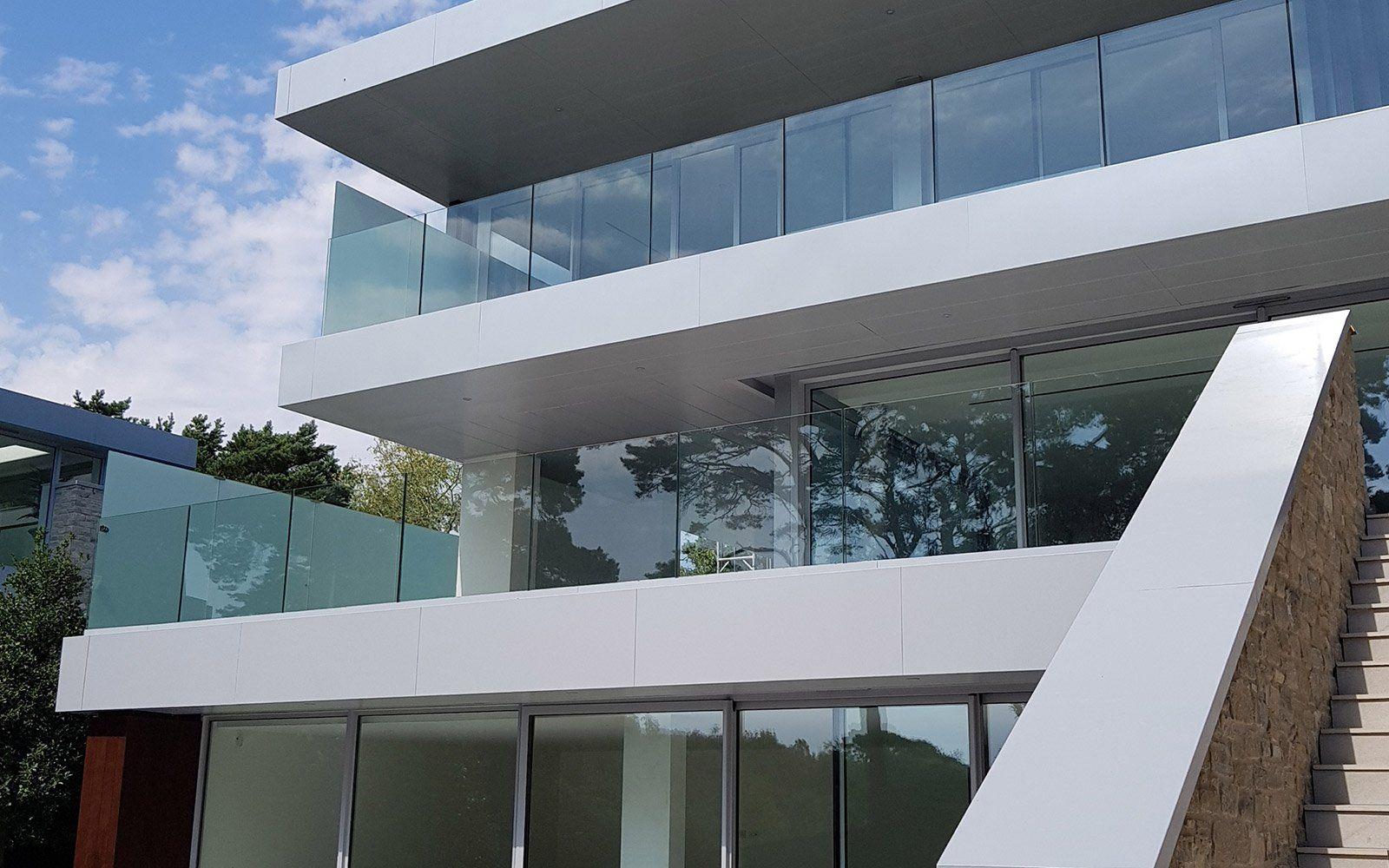 Luscombe Architectural Profile Aluminium Balconies
