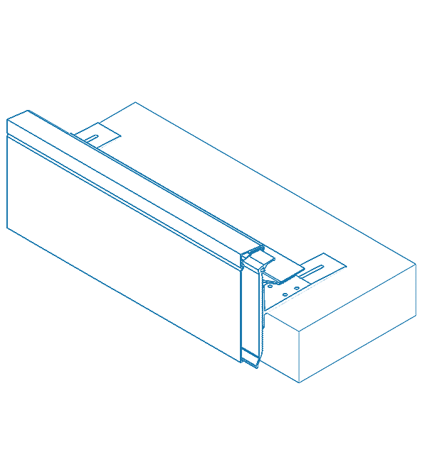 alwitra® TA Series Aluminium Edge Trim system