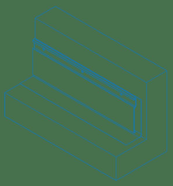 alwitra® Aluminium WA 150 Flashing profile system