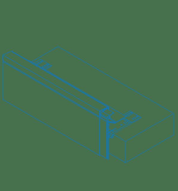 alwitra® Aluminium TA-4F Roof Edge Profile