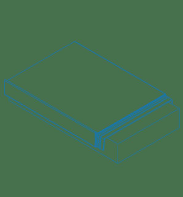 ICB 5xbent Aluminium Capping Profiles
