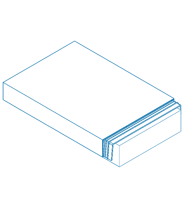 ICB 4xbent Aluminium Capping Profiles